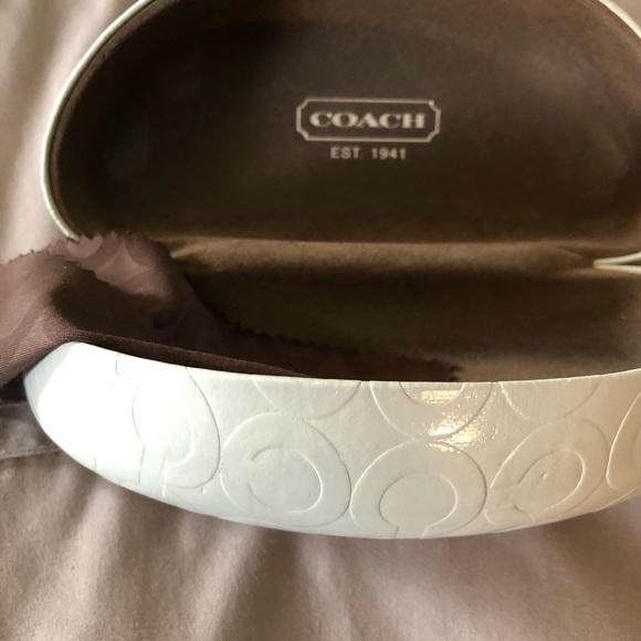 Coach Accessories - Coach Sunglass Case with wiper towel.